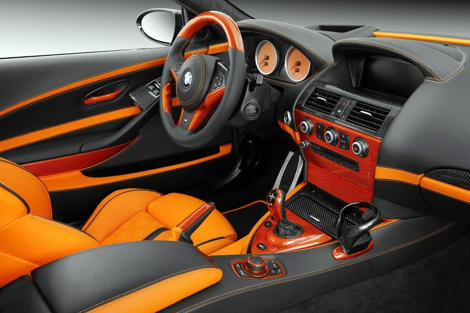 topcar bmw e63 m6 is orange black interior auto addiction interiors pinterest best bmw and. Black Bedroom Furniture Sets. Home Design Ideas