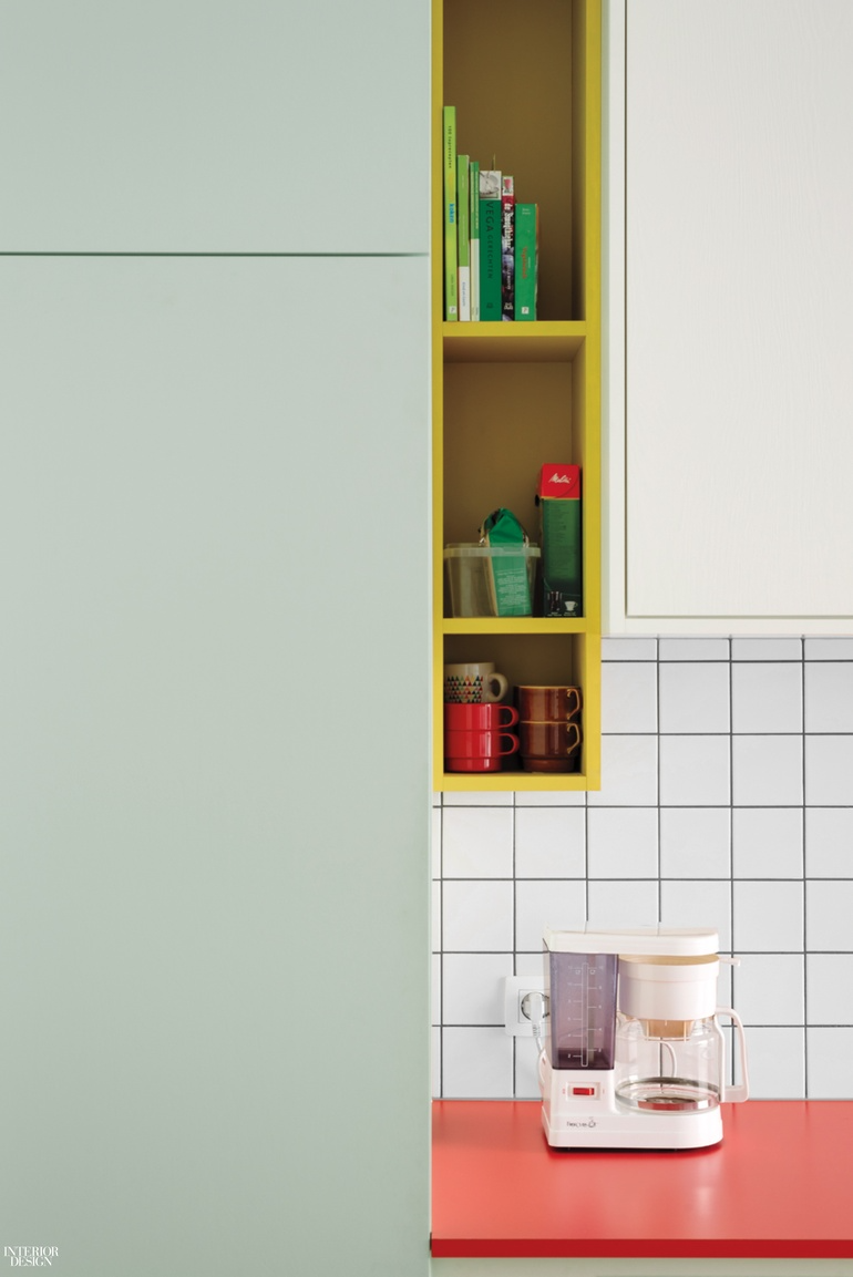 Dries Otten's Colorful Kitchens Evoke Abstract Canvases in 9 ...