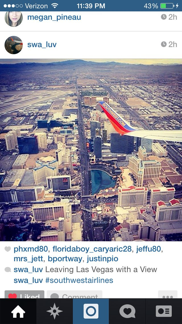 View of Las Vegas from the air. I can't wait until August 19 so I can experience it myself!