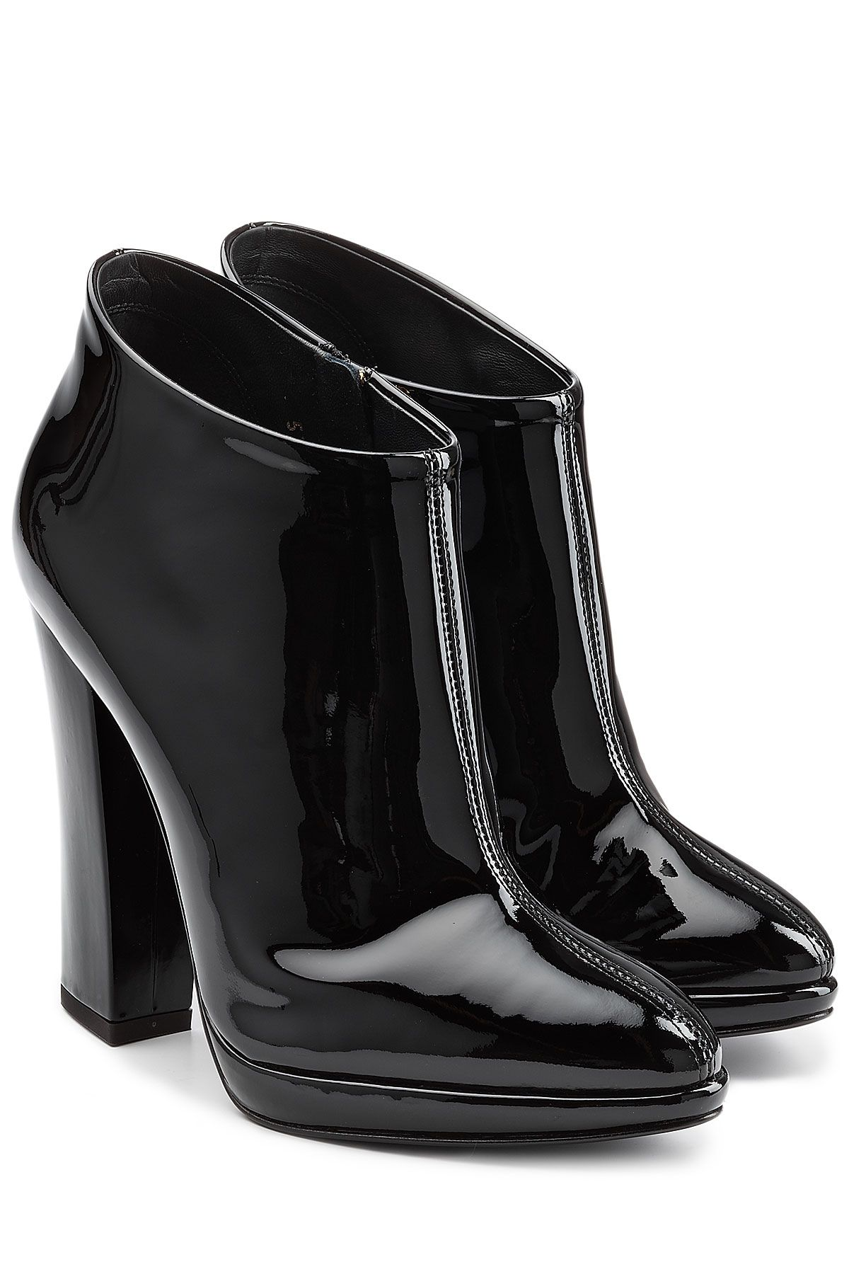 Giuseppe Zanotti Patent Leather Ankle Boots free shipping supply brand new unisex sale online new styles cheap online cheap 2015 outlet big sale a2XAjwP