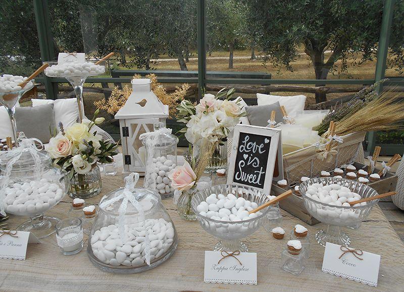 Dettagli di matrimonio biscotti wedding and confetti for Tableau style shabby chic