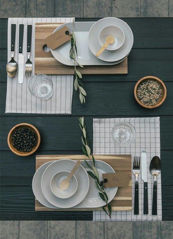 IKEA Esszimmer Inspiration: Tisch Decken Asiatisch   Minimalistisch Modern  Gedeckter Tisch