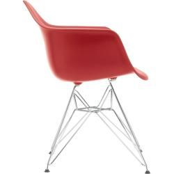 Photo of Eames Plastic Armchair Dar with plastic glides Vitra