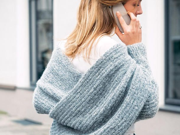 Photo of Wickelponcho stricken | Wunderweib