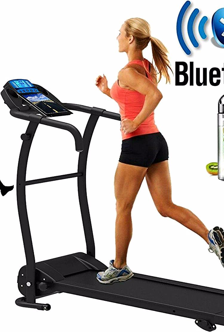 Tapis Roulant Electrique Pliant Running Machine Reglable Pente Bluetooth Nero Pro Treadmill Gym Equipment Sports