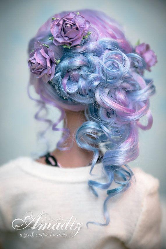 Purple rose fairy Back by amadiz on DeviantArt