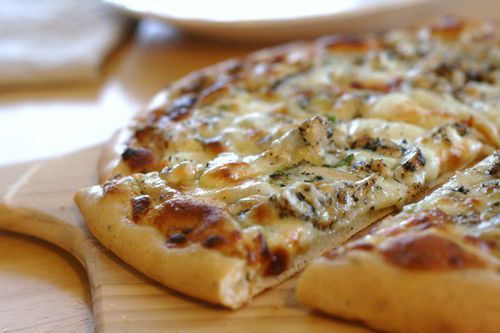 Love the pizza dough, love the chicken and the sauce is delish!!