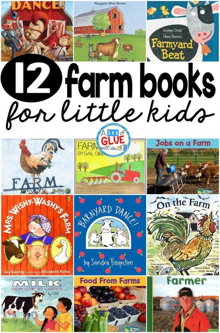 12 farm books for little kids farm activities preschool