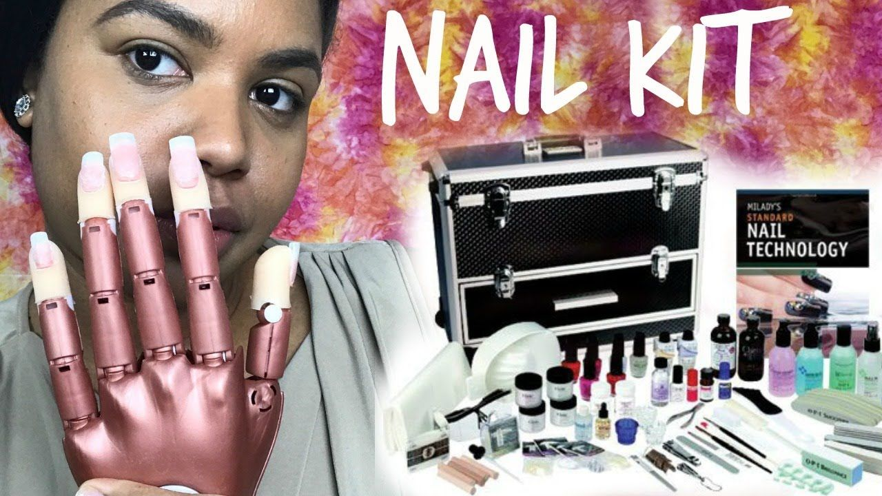 YAS! NAIL SCHOOL KIT TOUR!! take a look inside this nail