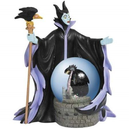 Amazon.com: Sleeping Beauty Antagonist The Evil Maleficent Snow Globe: Home & Kitchen