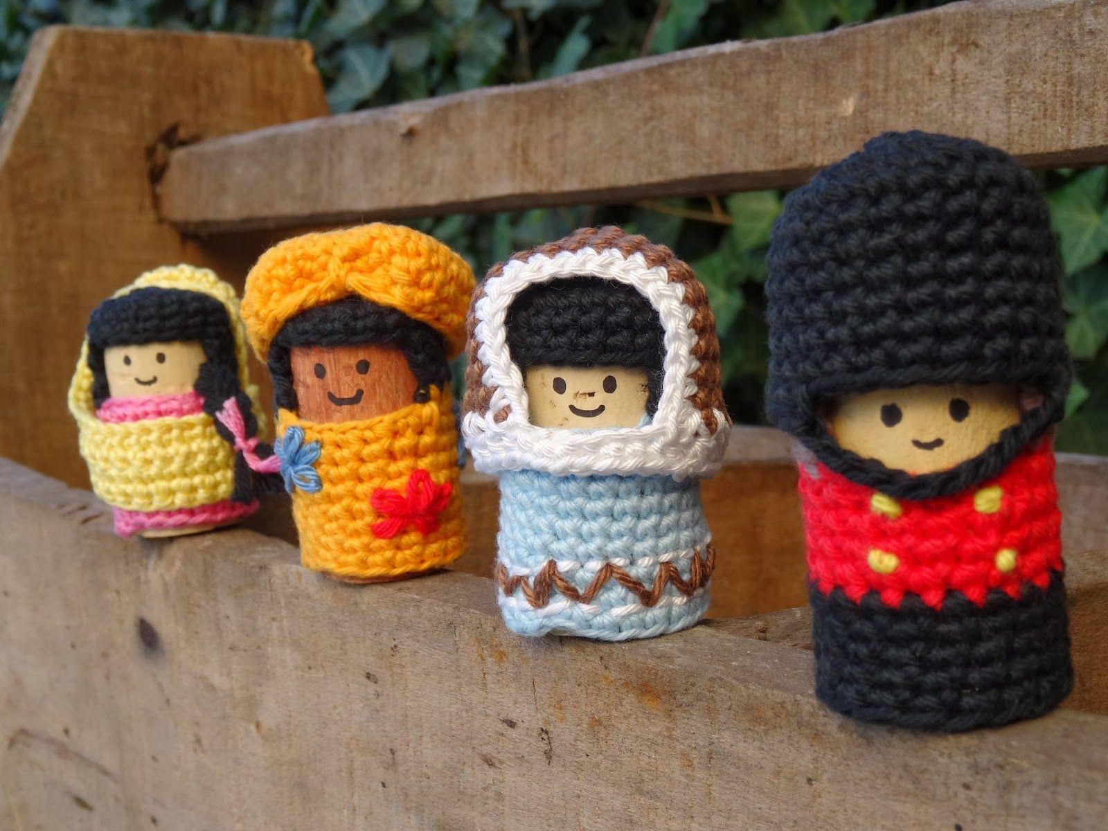 Korken Figuren | Gestricktes: Alles aus Wolle | Pinterest | Korken ...