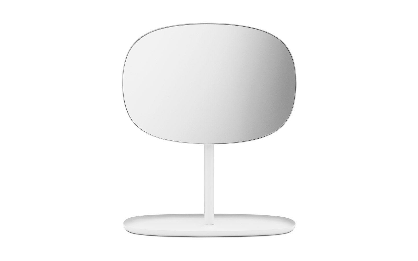 Flip Spiegel | Kleiner Tischspiegel mit Ablage