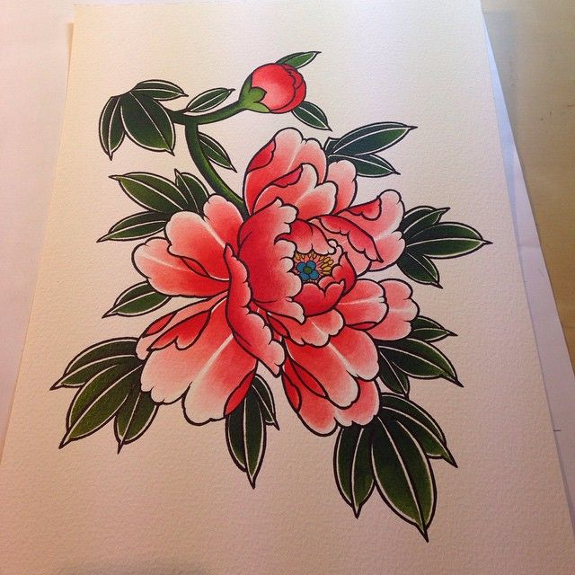 Painting for a T SHIRT ...... @blackgardentattoo