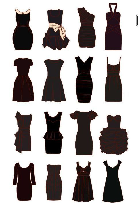 Types of Short Dresses