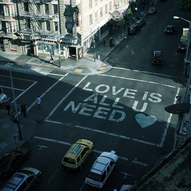 Love is all u need