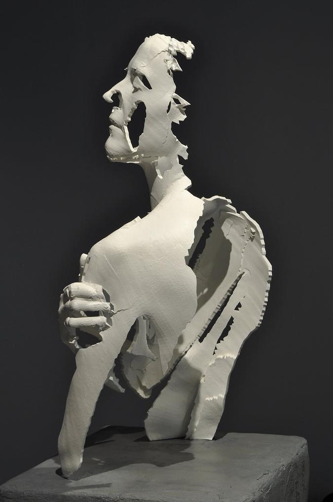LOVESDATA loves || 3d printed sculpture #sculpture #3dprint ...