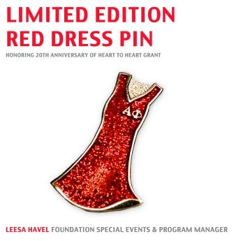 Staff pick: Limited Edition Red Dress Pin, http ...