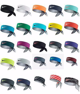 Brand New W Tags Nike Dri Fit Headbands Head Tie Bandana Nadal Federer Serena Nike Tie Headbands