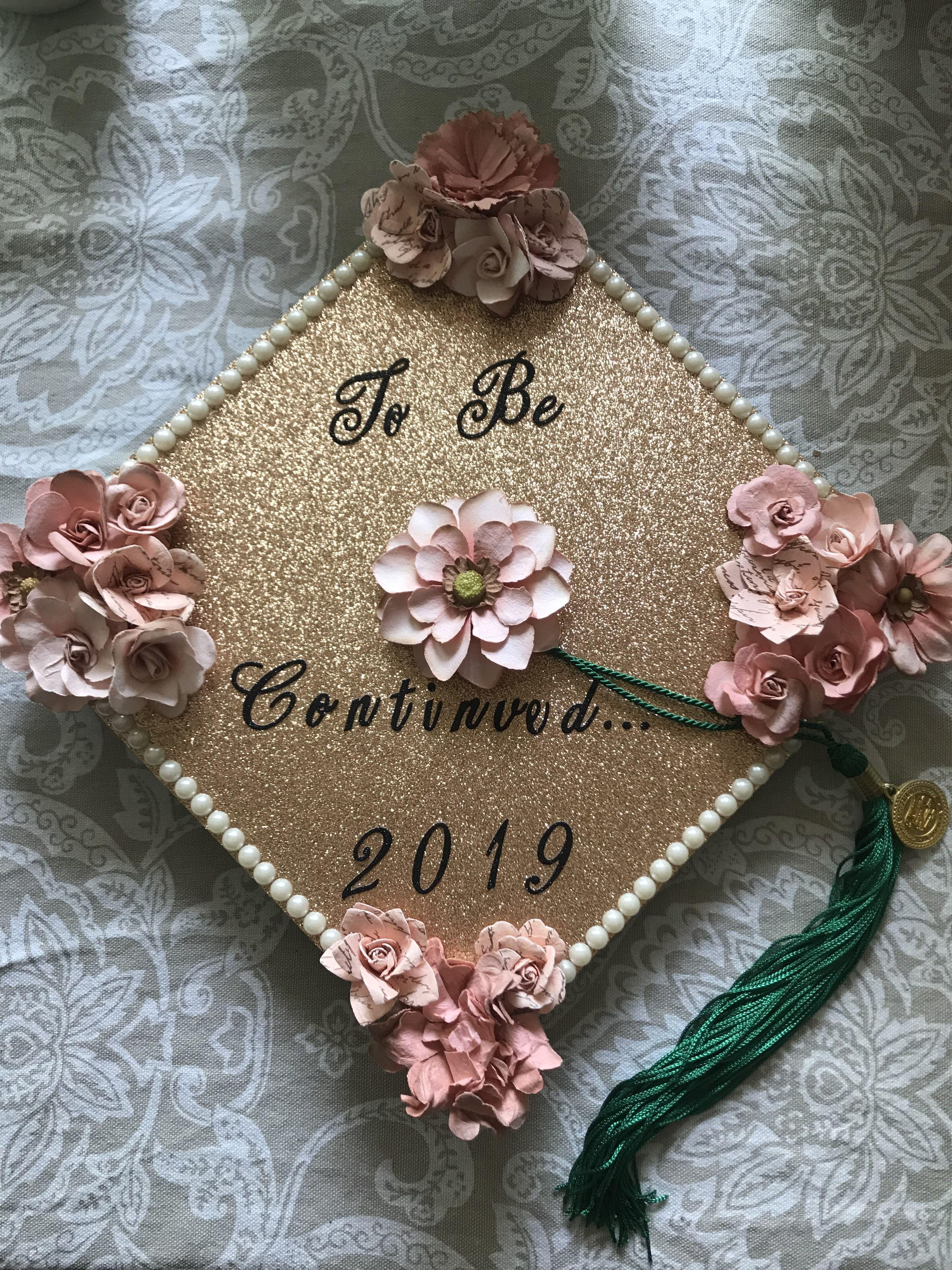 Photo of My graduation cap 🌸
