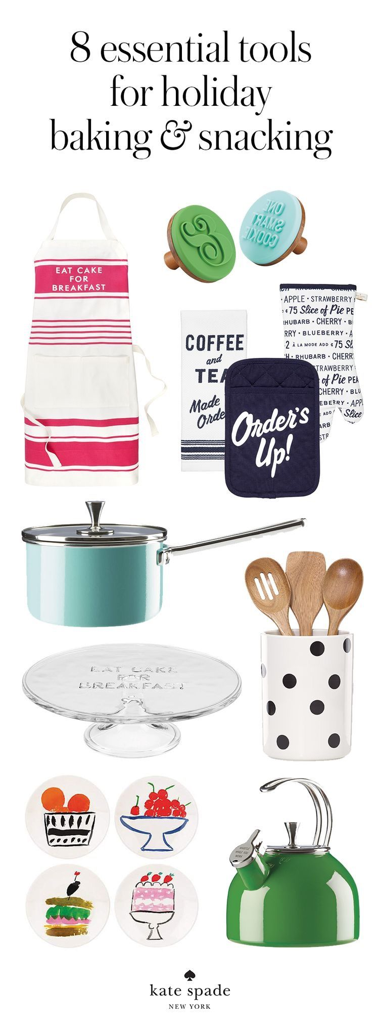 8 Essential Tools for Holiday Baking + Snacking | Kate Spade New York