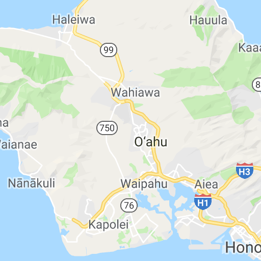 Oahu Circle Island Tour Map | pedalgoa.com/hawaii - Google ...