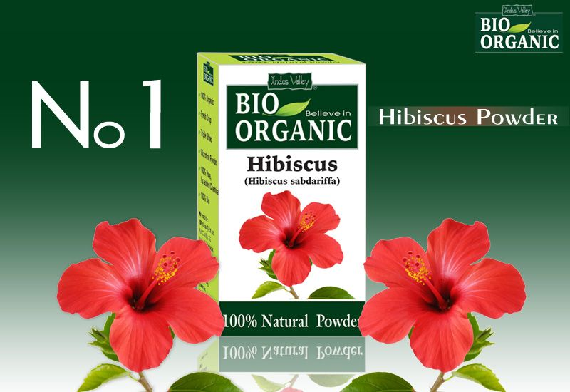 Organic Hibiscus Flower Powder Ayurvedic Herbs Hibiscus Organic