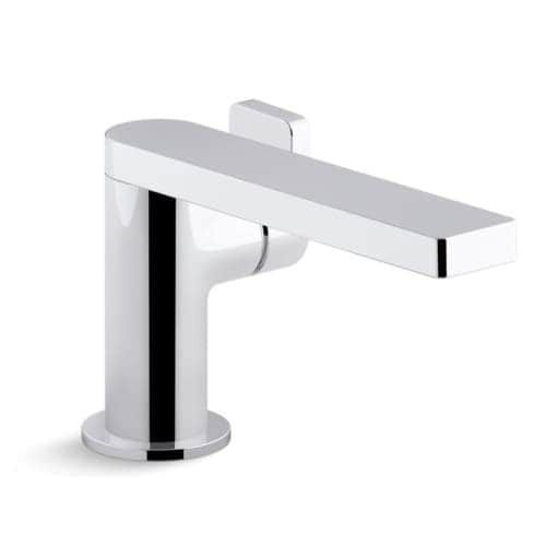 Kohler K Composed Single Hole Bathroom Faucet Steel Silver - Bathroom faucet outlet