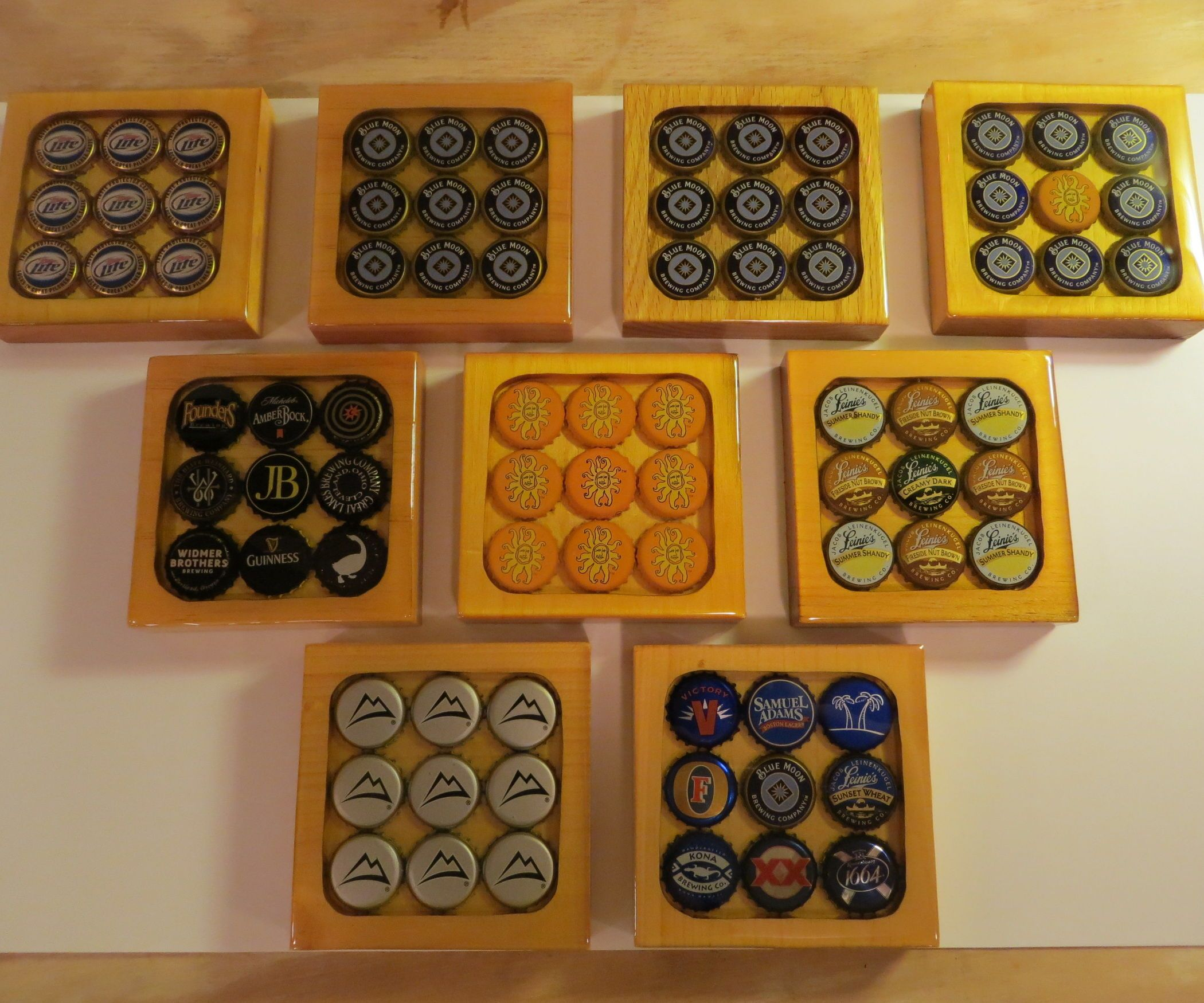 how to make drink coasters with pictures