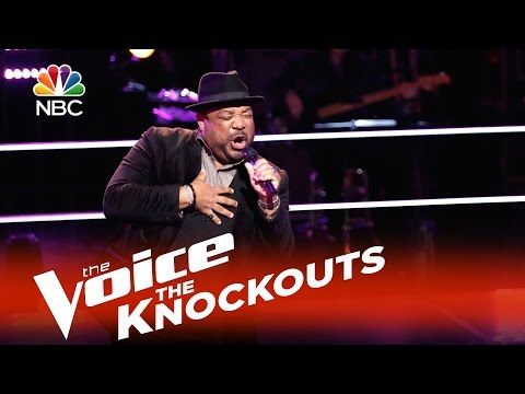 """▶ The Voice 2015 Knockouts - Barry Minniefield: """"What You Won't Do for Love"""" - YouTube"""