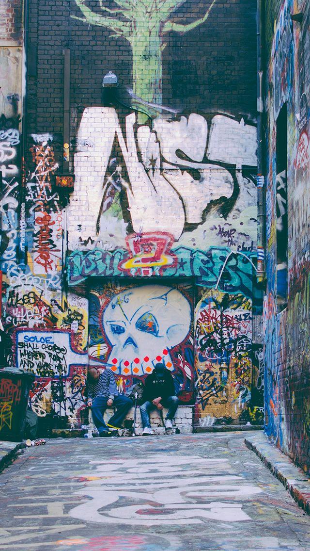 nj52grarfitistreetroad Iphone wallpaper grunge