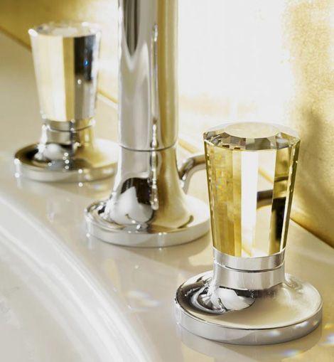 Brand Name Faucets - luxury Villeroy \ Boch La Fleur faucets