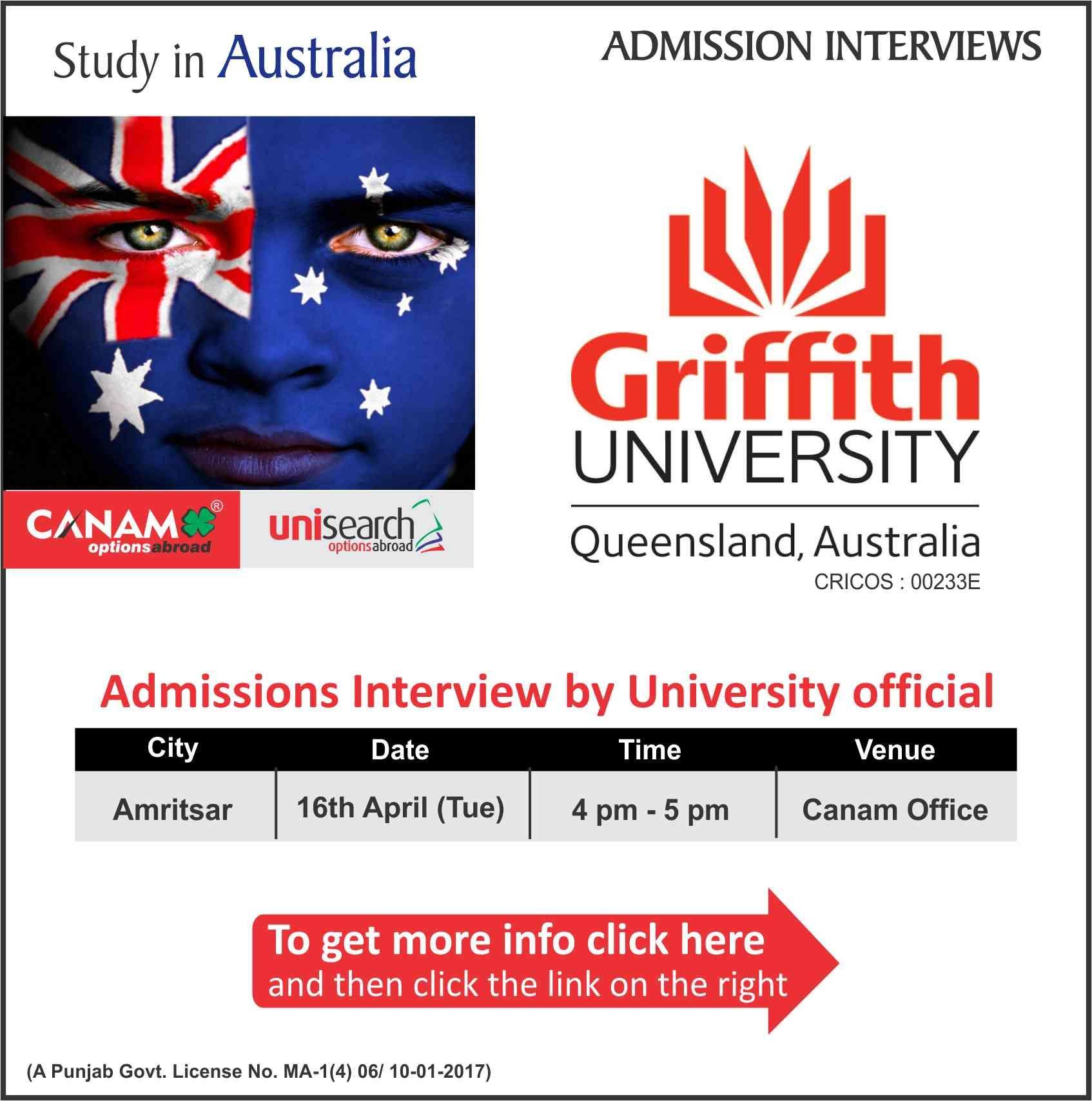 Study in Australia University australia, Admissions