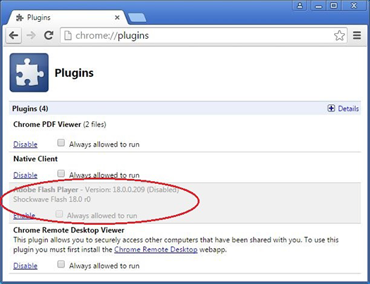 Enable Flash Player For Chrome Flash Plugins Enabling