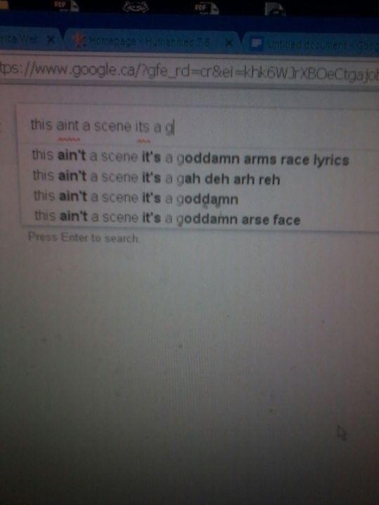 emo google homepage