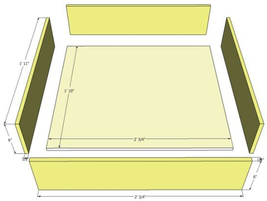 Make Interior Drawers for Kitchen Cabinets | Cape27Blog ...