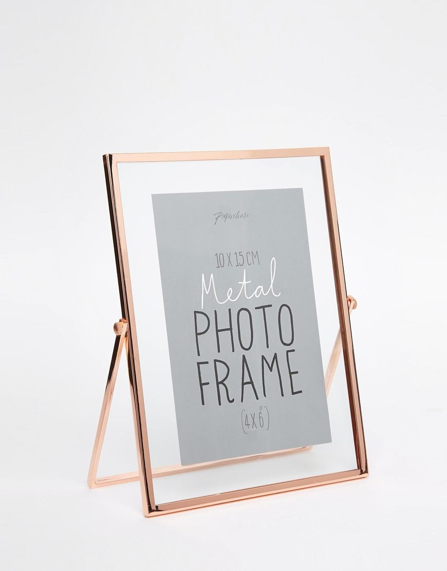 Image 2 of Paperchase Copper Photo Frame 4x6 | OTD Wedding ...