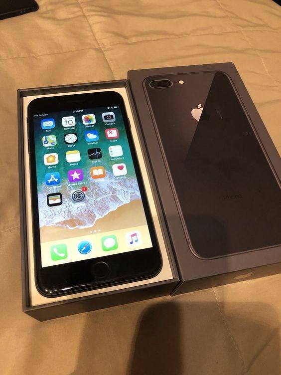 Apple Iphone 8 Plus 64gb Sprint Space Grey Iphone 8 Plus Apple Iphone Produk Apple