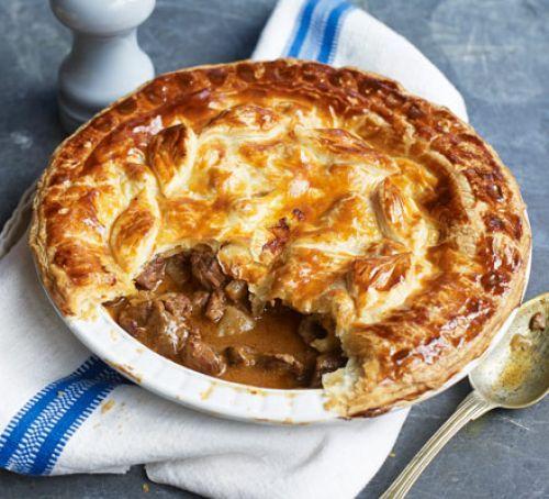 Easy steak pie | Recipe in 2020 | Bbc good food recipes ...