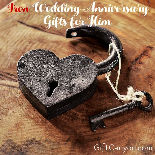 Traditional 6th Wedding Anniversary Gifts For Him: Iron