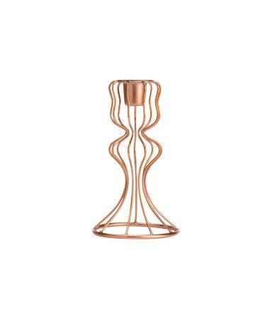 Kerzenständer Draht kupfer H&M candle stand wire copper H&M ...