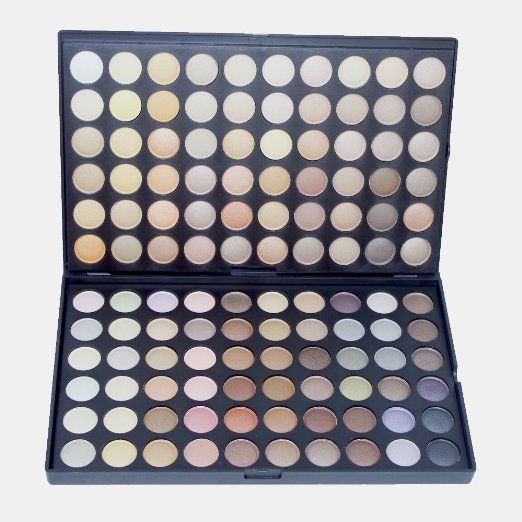 Amazon.com : Royal Care Cosmetics Pro 120 Color Eyeshadow Palette 4th Edition (Neutrals) : Combination Eye Liners And Shadows : Beauty
