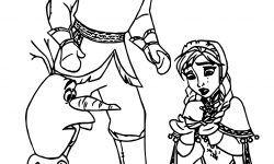 Karlar ülkesi Anna Düştü Frozen Boyama Sayfası Xx Pinterest