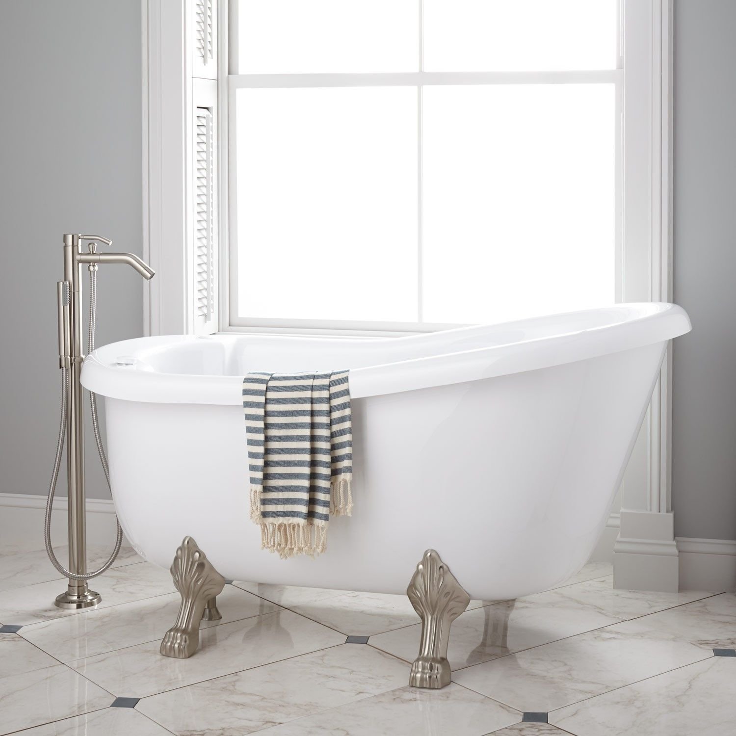 Pearson Acrylic Clawfoot Whirlpool Tub | For the Home | Pinterest ...