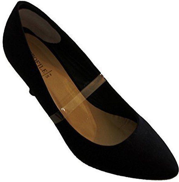 Las prácticas correas elásticas zapatos, accesorios de zapatos de boda - transparente