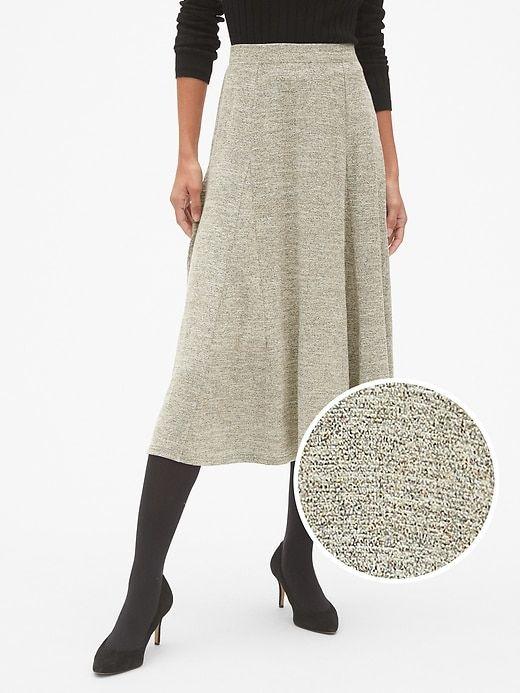 daebdf6e3ea5f Softspun Metallic Midi Circle Skirt | Products | Lace skirt ...
