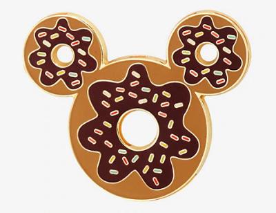 mickey mouse ears donut boxlunch pin felt disney pins disney rh pinterest com Baby Mickey Mouse Clip Art Baby Mickey Mouse Clip Art