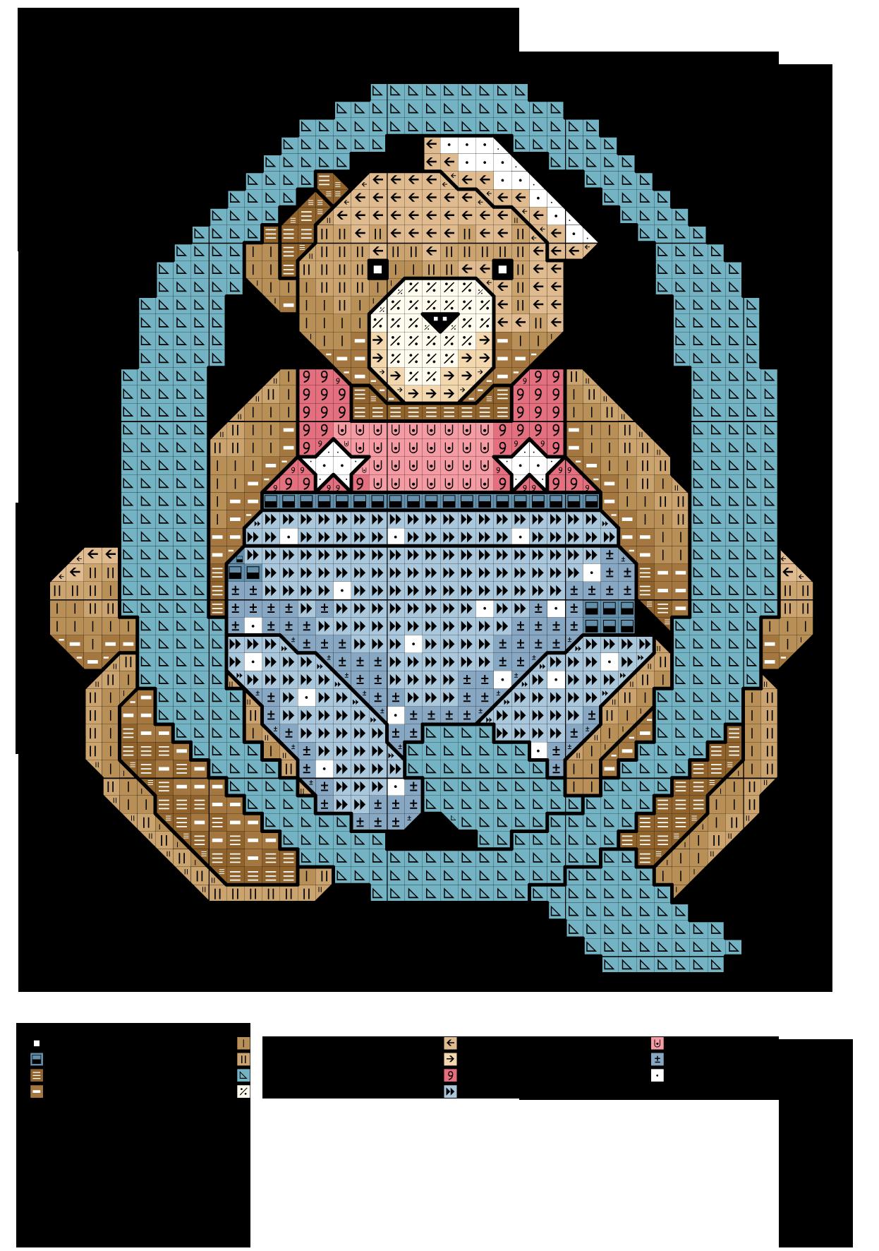 alfabeto degli orsacchiotti2: Q