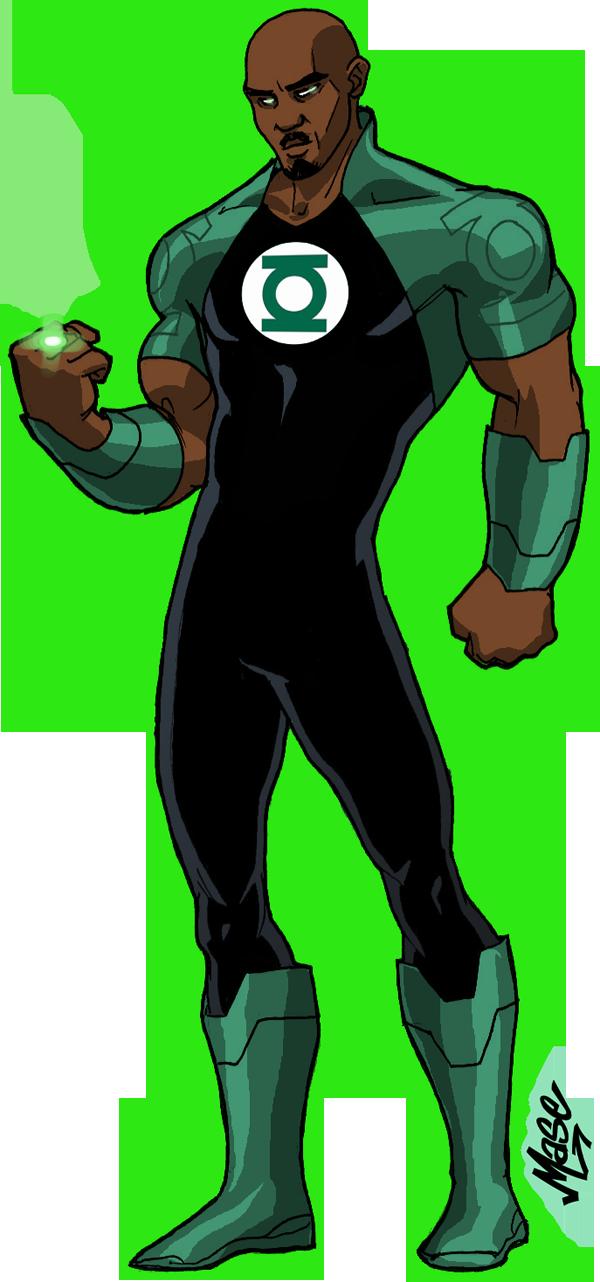 Green Lantern Redesign By Mase0ne On Deviantart Black Green Lantern Green Lantern Corps Green Lantern