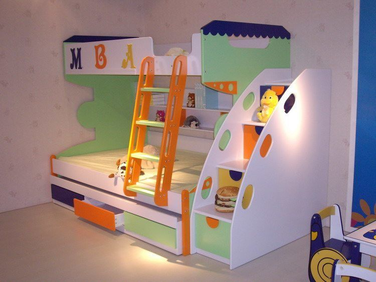Elegant Bunk Beds For Kids U2013 Safe, Stylish Space Savers U2026 And Lots Of Fun