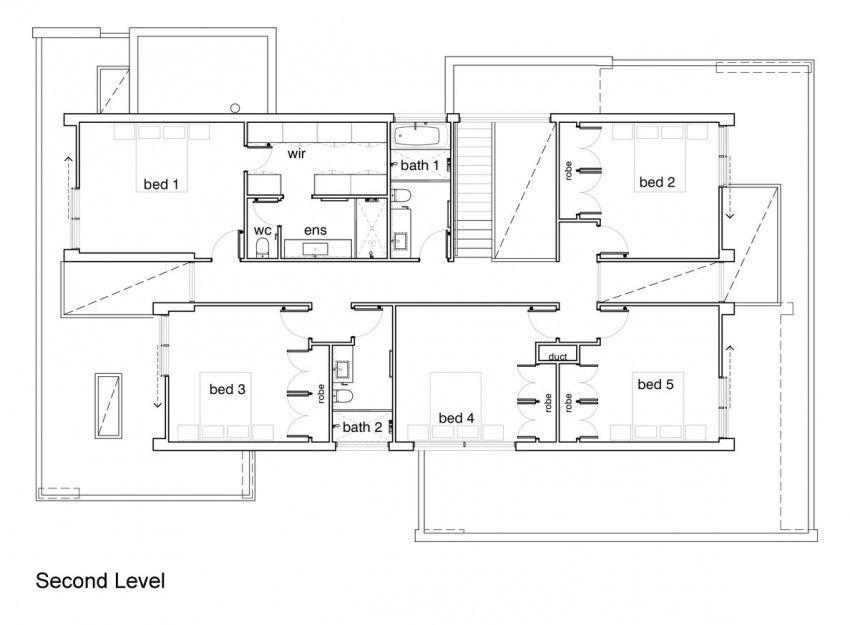 Minimalist floor plans homes